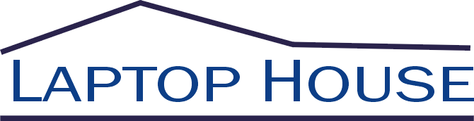 logo laptop house